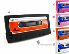 for Apple iPhone 5 5s Cassette Tape Soft Silicone Case+PryTool Package Cover Gel