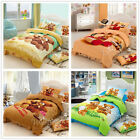 Cute Bears Single Bed Doona/Quilt/Duvet Cover Set New Cotton Adorable Toy Teddy