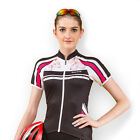 New Women's Cycling Bike Bicycle Jacket Shirt Outdoor Short Sleeve Jersey M-XL