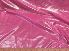 Discount Fabric Fancy Lycra /Spandex 4 way stretch  Pink Metallic Silver FL120