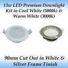 13w Premium Dimmable LED Downlight Kit - Samsung LED Chips