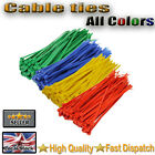 SILVER CABLE TIES FOR CAR WHEEL TRIMS (50 or 100 pieces)
