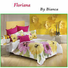Floriana White Spring Quilt Cover Set - SINGLE DOUBLE QUEEN KING Eurocases Cushi