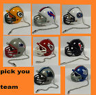 NEW NFL Ceiling Fan Helmet Pull Chain Lamp Pull Chain -- CHOOSE YOUR TEAM!! $5.99 USD