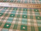 Vinyl PVC Tablecloth Easy Wipe Clean Green Checks Gingham Hearts Oilcloth 140 cm