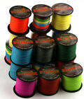 Multicolor 1000M 6 10 20 30 40 50 TO 100LB strong DYNEEMA braided  Fishing Line