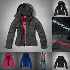 new ABERCROMBIE KIDS GIRLS all season JACKET hoodie size S M L XL NWT BLUE pink