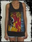 **Guns N Roses Unisex Vest** Singlet Tank-Top T-Shirt Sizes S M L XL