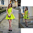 NEW Women Sleeveless Sexy Backless Party Ball Prom Evening Short Mini Dress