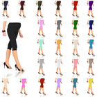 NEW Cropped Very Comfortable Maternity Cotton Leggings 3/4 Length PREGNANCY HQ