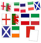 10m and 15m Bunting England/France/Italy/Scotland/Wales/Ireland and 6 Nations