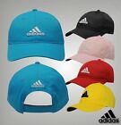 Mens Adidas Stylish Flexible Peak Small Logo Golf Cap Headwear