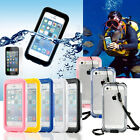 PC Waterproof Durable Shockproof Dirt Snow Proof Case Cover for iPhone 5S 5C 4S