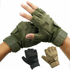 Military Tactical Airsoft Hunting Cycling Bike Half Finger Fingerless Gloves