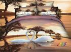 New 3d Bedding Spring Beautiful Bedding Quilt cover 100% cotton 4pc