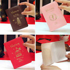 Passport Ticket Credit Card Journey Travel Holder Cover Case Protector PVC Skin