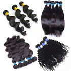 100% virgin peruvian remy human hair weft extensions original hair bundles 300g