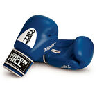 Greenhill Tiger Boxing Gloves Leather Training Sparring Bags Pads 16 Oz Red Blue