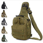 Molle Tactical Army Outdoor Camouflage Chest Pack Sport Shoulder Bags Backpack