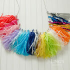 Tissue Shiny Foil Tassel Garland with Free Twine Wedding Party Decorations
