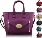 Designer Brand New Ladies Womens Leather Style Fashion Tote Shoulder Handbag Bag