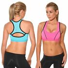 Jogging Sports Bra by Blockout womens clothes. Ladies Gymwear Fitness Crop-top