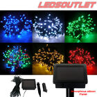 100/200 LED 17M/22M Solar Fairy String Lights Wedding Garden Party Outdoor NEW