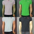 Abercrombie & Fitch Men's Polo Shirt NWT Brand New Muscle A&F Slim Fit Sexy Cool