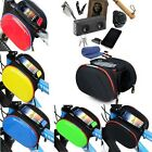 Cycling Bicycle Double Pannier Mountain Frame Front Tube Bag Bike Shell Package