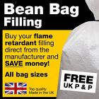 Polystyrene Bean Bag Refill Top Up Filler Filling Balls - Various Size Options