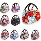 Women Outdoor Canvas Lunch Bag Casual Handbag Picnic Totes Carry Box Portable
