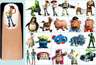60x TOY STORY Nail Art Decals + Free Gems Disney Woody Buzz Lightyear Jessie Rex