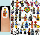 60x THE LEGO MOVIE Nail Art Decals + Free Gems Emmet Wyldstyle Lucy Unikitty Cop