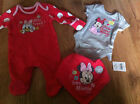 Disney Baby Girls Minnie Mouse &Daisy Duck Outfit Free P&P New Baby