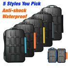 Anti-shock Waterproof SD SDHC CF XD Memory Card Case Holder Hard Storage Wallet