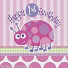 LADYBUG FIRST BIRTHDAY PARTY NAPKINS (16)