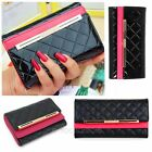 New Womens Fashion Clutch Leather Long Handbag Lady's Wallet Coin Purse Bag