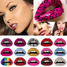 1 Pcs Temporary Lip Tattoo Sticker Transfer Tattoos Fancy Dress Hen Night Party