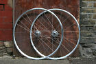 SSC Premium+ Single Speed Wheels | 700c Double Eyelet Rim | Quality Track Wheels