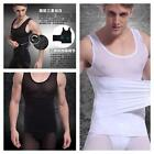 BEST UK MENS SLIMMING VEST COMPRESSION TOP FOR WEIGHT LOSS FAT BELLY BUSTER NEW
