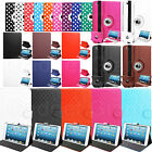 LEATHER 360 DEGREE ROTATING STAND WALLET CASE COVER FOR APPLE iPAD Mini
