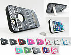 for Apple iPhone 6 (4.7 Inch) Hybrid Verge w/ Metal Kickstand Case Cover+PryTool