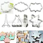 Stainless Steel Cookie Cutter Biscuit Jelly Fondant Cake Mold Tool Pastry Mould