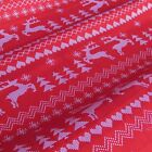 "100% cotton fabric for quilting & sewing  60"" wide - per 1/2 m - CHRISTMAS"