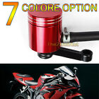 New Universal Brake CNC Fluid Reservoir For KAWASAKI ZX6R/9R/12R Z1000 ZZR