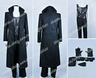 Blade Trinity Cosplay Wesley Snipes Black Leather Costume Made in High Quality