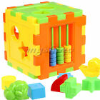 Kids Educational Play Games Animal Shape Alphabet Block Cube Toddler Baby Toy