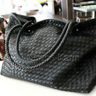 Large Bags Korean Ladies Designer Leather Style Studded Satchel Tote Bag Handbag