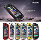 Waterproof Aluminum Gorilla Metal Case Cover For Apple iPhone 6 4.7 plus 5.5''