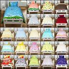 100% Cotton 2PC Printed baby cot toddler duvet quilt cover + Pillowcase
